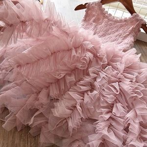 Other - 💗New Dusty Pink Princess Ruffle Tulle Party Dress